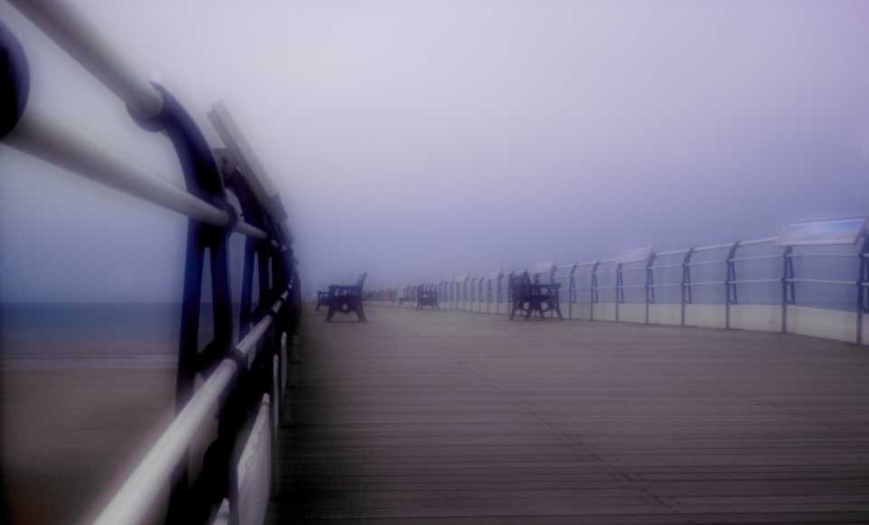 Chris Ireland, 'Saltburn Pier'. Image copyright the artist, 2014.