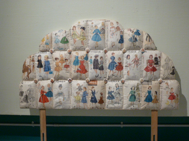 'Daddy's Little Princess' - Headboard and sewing patterns.