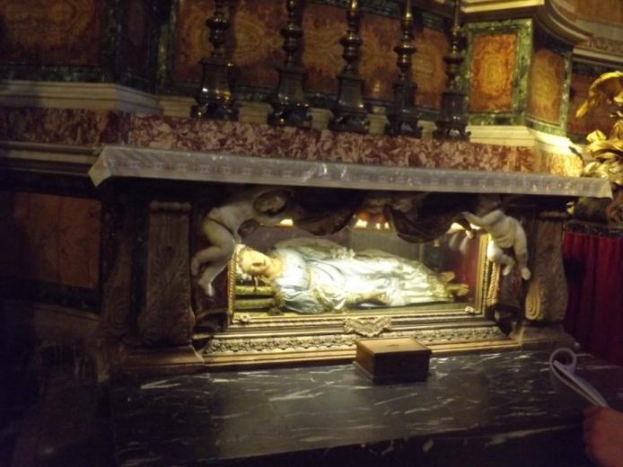Santa Maria della Vittoria, Rome. Photograph: Sam Broadhead.