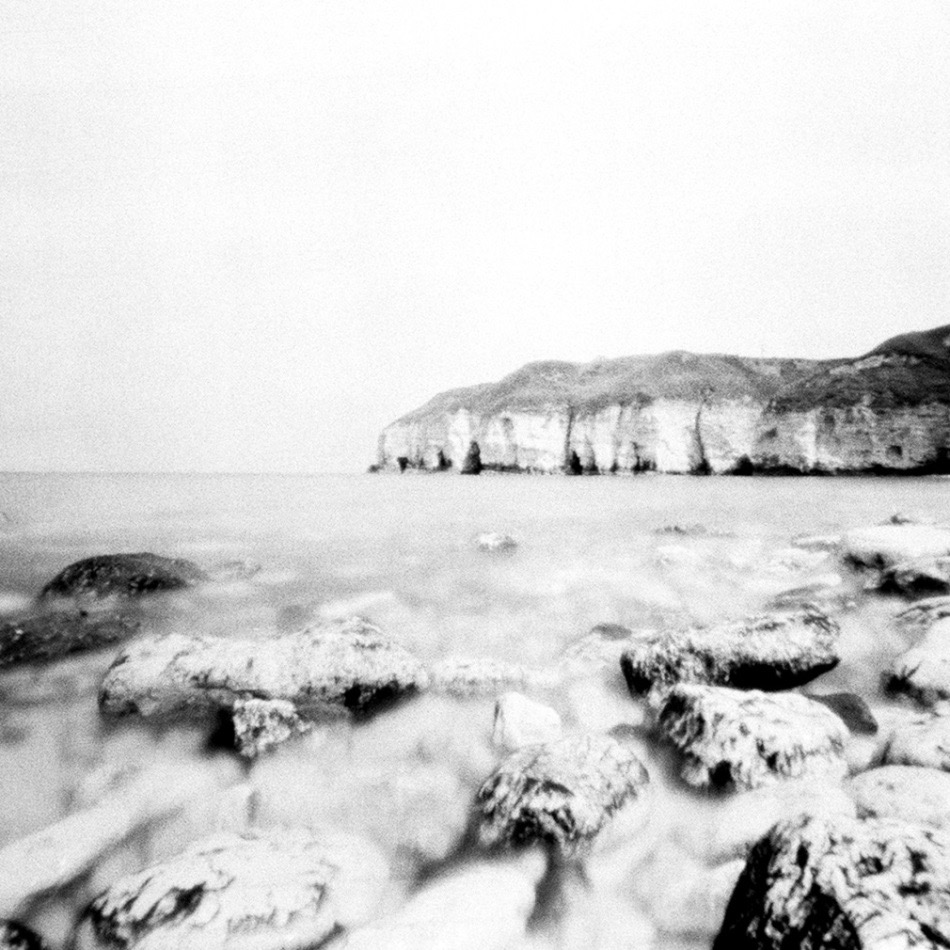 Sharon Harvey, 'Thornwick Bay 2:55pm'. Pinhole photograph, 2014. Copyright the artist.